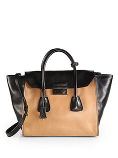 Prada on Pinterest   Top Handle Bags, Totes and Calves