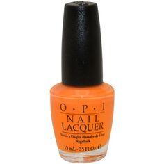 OPI Osaka To Me Orange Nail Lacquer