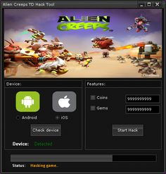 Alien Creeps TD Hack Tool Free Download
