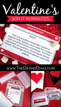 """This is the best party ever!  Valentines edition of """"Win It In Minutes"""" www.TheDatingDivas.com"""