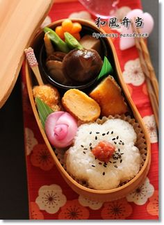 Wafu Bento, Traditional Japanese Boxed Lunch by Ginmayu