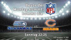 NFL: Seahawks - Bears I Livestream - National Football League Livestream - PULS 4 SPORT - puls4.com