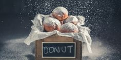 Donuts, Dna, Painting, Fine Dining, Frost Donuts, Beignets, Painting Art, Paintings, Painted Canvas