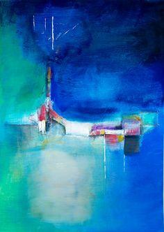 Nightshift - Acryl on Canvas