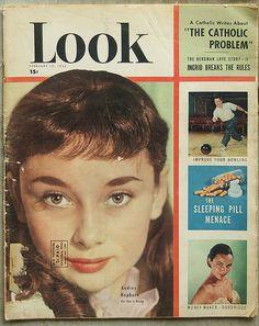 Look Magazine, 1952, Audrey Hepburn