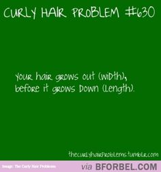 Curly Hair Problem- How Your Hair Grows…