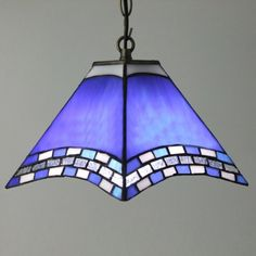 Fashion Style Geometric/Mission Tiffany Lights - Beautifulhalo.com