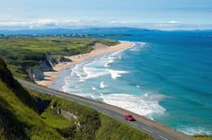 No Monday blues here. the fabulous Causeway Coastal Route, in Northern Ireland Driving In Ireland, Country Walk, Seaside Towns, Filming Locations, World Heritage Sites, Family Travel, Scenery, Water, Coastal