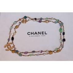 bee4661aa43c Sautoir Chanel d occasion Multicolore 950 €, authentifié par un expert  reconnu. Instant
