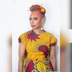 Vêtements africains : la T U L I P africaine par LiLiCreations