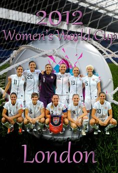 2012 Olympic Poster/ United States/America Women's World Cup Soccer Team Poster. | eBay