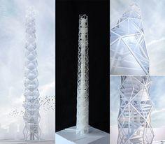 Die Intelligenz der Seifenblase: Wolkenkratzer mit minimierten Oberflächen