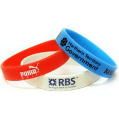 Silicon wristbands - a great way for promoting your business or cause. #legendsbrandanddeliver