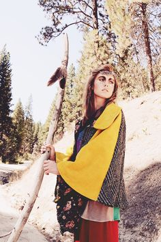 Sara Kelley | Erika Astrid #photography | Asuyeta Wanderlust A/W 2012/13 Collection | #bohemian #boho #hippie #gypsy