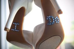"""I Do"" on the bottom of wedding shoes.something blue Cute Wedding Ideas, Perfect Wedding, Wedding Inspiration, Wedding Pictures, Wedding Events, Our Wedding, Dream Wedding, Wedding Stuff, Wedding Things"