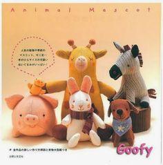 Revista de muñecos en fieltro y tela gratis