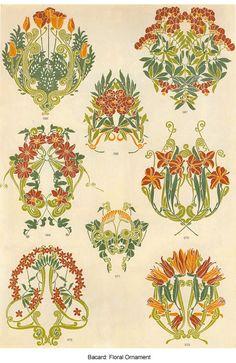 Vintage Images - Art Nouveau Florals