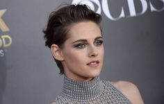 HOLLYWOOD, CA - NOVEMBER 14:  Actress Kristen Stewart arrives at the 18th Annual Hollywood Film Awards at The Palladium on November 14, 2014 in Hollywood, California.  (Photo by Axelle/Bauer-Griffin/FilmMagic) via @AOL_Lifestyle Read more: http://www.aol.com/article/2016/05/17/stewart-and-director-brush-off-personal-shopper-boos-in-cannes/21378968/?a_dgi=aolshare_pinterest#fullscreen