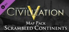 Sid Meier's Civilization V: Scrambled Continents Map Pack