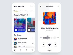 Music Player Mobile App designed by Nasim. Connect with them on Dribbble; the global community for designers and creative professionals. Web Design, App Ui Design, Mobile App Design, User Interface Design, Flat Design, Graphic Design, Design Thinking, Motion Design, Ios