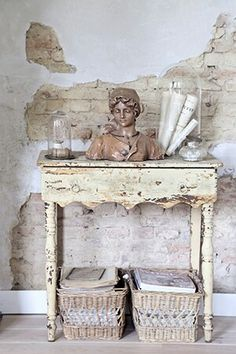 Healthy specialized rustic shabby chic home Reveal my mystery coupon Shabby Chic Cottage, Shabby Chic Homes, Shabby Chic Style, Shabby Chic Decor, Rustic Decor, Shabby Chic Furniture, Rustic Furniture, Painted Furniture, Furniture Ideas