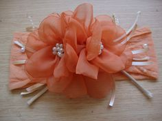 Diy Ribbon, Fabric Ribbon, Ribbon Crafts, Ribbon Bows, Fabric Flowers, Baby Hair Bands, Baby Hair Clips, Baby Girl Hair Accessories, Handmade Hair Accessories