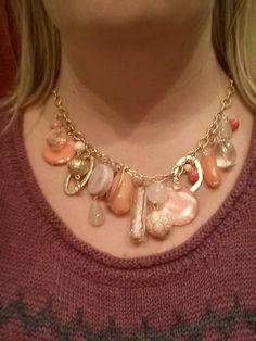Dreamsicle necklace from premier spring 2013. Great for Spring! http://www.facebook.com/carolyn.l.popp#!/CarolynPoppPremierDesignsJewelry?fref=ts