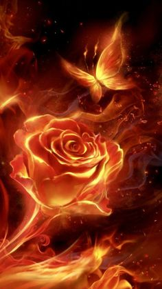 Fiery rose and butterfly! flame live wallpaper Fiery rose and butterfly! flame live wallpaper Android live wallpapers from Ahatheme Butterfly Wallpaper, Butterfly Art, Galaxy Wallpaper, Flower Wallpaper, Butterfly Quotes, Wallpaper Backgrounds, Pretty Wallpapers, Live Wallpapers, Phone Wallpapers