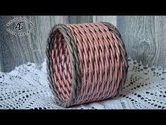 Плетение ситцем 2 за 1. - YouTube