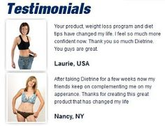 Weight Loss Product Review Notes: Weightloss