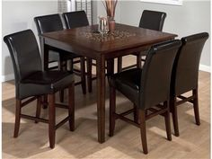 Shop for Jofran Counter Height Square Table, 697-50, and other Dining Room Dining Tables at Story & Lee Furniture in Leoma, TN. A smart build and sensible style make this table a must-have inclusion.  With a keen design and adaptable features, this table is a simple solution to providing key elements.