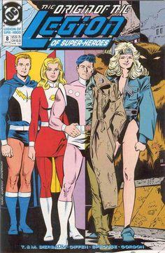 Legion 1989 series # 62 near mint comic book
