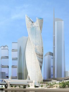 10 Twisted Skyscrapers Around the World - Evolution Tower, Moscow