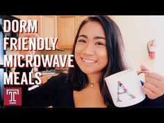 What are you cooking up in your residence hall? Drop a comment down below . And check back for new vlogs every Wednesday! Microwave Recipes, Dorm Life, Wednesday, Take That, College, Drop, Youtube, University, Youtubers