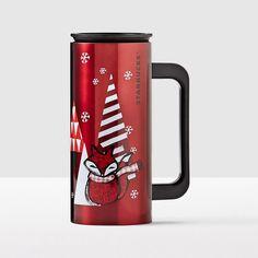 Red Fox Stainless Steel Desktop Tumbler. Capture the joy of the season.