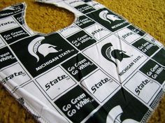 Michigan State Baby and Toddler Bib by ladycavendish on Etsy, $3.50