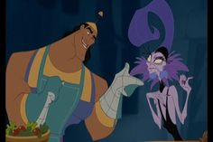 Yzma and Kronk - pairing halloween costume