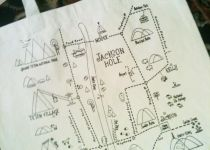 Jackson Hole Market Bags Mountain Style, Jackson Hole, Market Bag, Old West, Board, Design, Sign, Planks