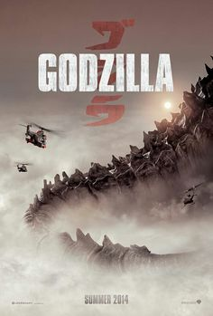 Godzilla Comic-Con poster and concept art. Comic-Con poster and concept art for Gareth Edwards' Godzilla starring Aaron Taylor-Johnson. Great Movies, New Movies, Movies Online, Movies 2014, Cult Movies, Watch Movies, San Diego Comic Con, Godzilla 2014 Movie, Godzilla Franchise