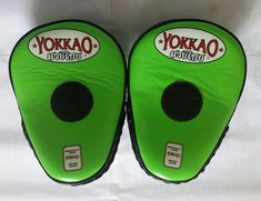 YOKKAO NEON GREEN/BLACK FOCUS MITTS   Clothing, Shoes & Accessories, Women's Bags & Handbags   eBay! Neon Green, Women's Bags, Handbags, Clothing, Sports, Ebay, Accessories, Black, Outfits