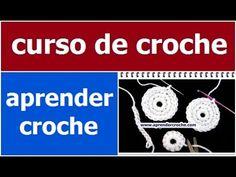 CURSO DE CROCHE CROCHE AULA 019/081 PADRÃO 1 ARREMATAR FIOS - YouTube