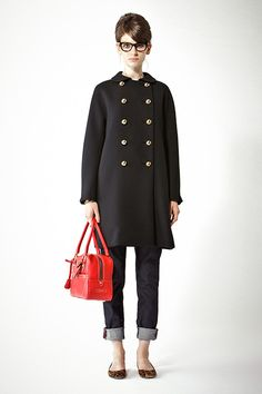2013 Lookbook vol.11 Diana Vreeland vol.1 | Deuxieme Classe 金ボタンダブルコート [J&M DAVIDSON] ¥96,600 no.13020510563230 入荷済 デニムパンツ [Notify] ¥30,450 no.13030510547330 バッグ・MINI MIA [J&M DAVIDSON] ¥136,500 no.13092510564230 メガネ [ELIZABETH AND JAMES] ¥24,150 no.13090510022410 レオパードバレエシューズ [PELLICO] ¥58,800 no.13093510580030 リングブレスレット [VITA FEDE] ¥28,350 no.1309150520310