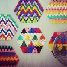 Coasters hama beads by adi_shapi