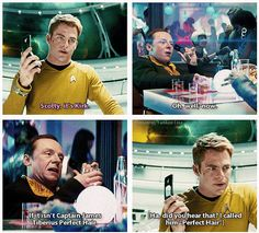 Star Trek Into Darkness love Scotty