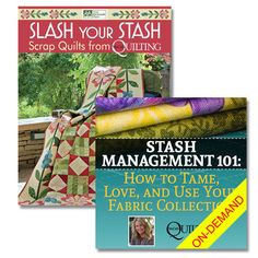 Stash Management 101 Special Holiday Bundle: Great deal on helpful web seminar plus a bonus book to Slash Your Stash. Just $19.99 today only!