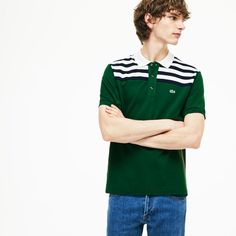 e10d907957ba Lacoste Polos Mens Green Unisex L.12.12 1980s Revival 85th Anniversary  Limited Edition Piqué Polo