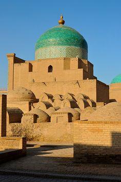 Uzbekistan, Khiva, Juma Mosque