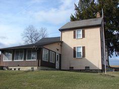 Front of farmhouse on 47 acre Northampton County, PA farm
