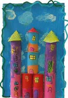 book projects for kids ; book projects elementary for kids Summer Crafts, Summer Art, Diy And Crafts, Arts And Crafts, Paper Crafts, Book Projects, Projects For Kids, Diy For Kids, Crafts For Kids