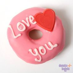 Love 4 You. And 4 Donuts!! Donuts+Bagels Rotterdam donut.nl